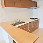 食洗器も付いているシステムキッチン(キッチン)