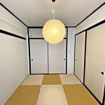 お洒落な琉球畳(寝室)