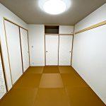 琉球畳がお洒落(寝室)