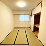 6帖の和室(寝室)