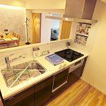 食洗器付きのシステムキッチン(キッチン)