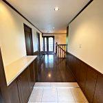 玄関は9階部分(玄関)