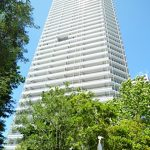 総戸数926戸のタワーマンション(外観)