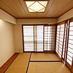 4帖の和室(寝室)
