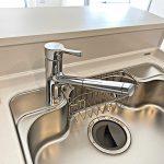 浄水器内蔵のキッチン水栓(キッチン)