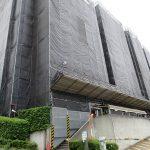 大規模修繕工事中(2020年5月)(外観)